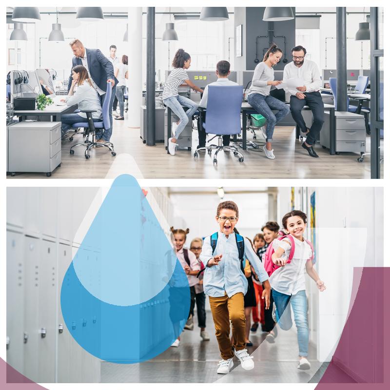 poidełko to sposób na darmową wodę w szkole lub miejscu pracy